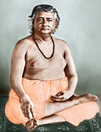 "Swami Akhandananda ""Baba Maharaj"", a direct disciple of Sri Ramakrishna"