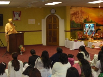 Guru purnima at Lenasia branch