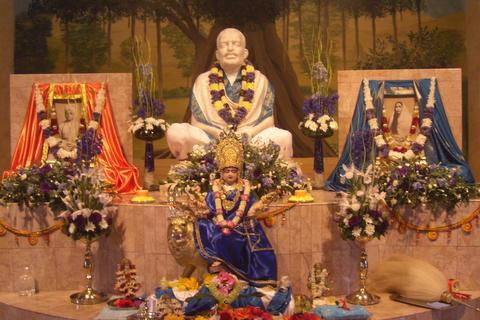 Shrine in the Ramakrishna Temple at HQ