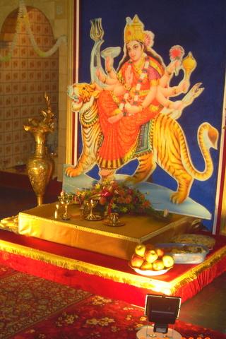 Mother Durga at Glencoe