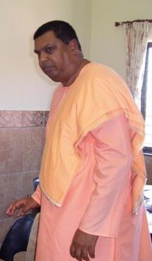 Swami Saradananda of SA, a dynamic monk for social change