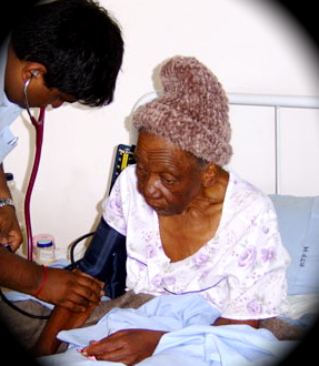 A terminally-ill patient