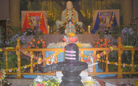 Lord Shiva at Ramakrishna Temple HQ