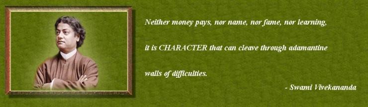 Swami Vivekananda on character
