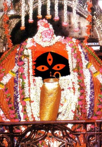 Divine Mother Kali of Kalighat in Kolkata, India