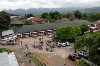 Ramakrishna Mission Hospital at Itanagar in Arunachal Pradesh - planned executed and run by Prityda for more than two decades