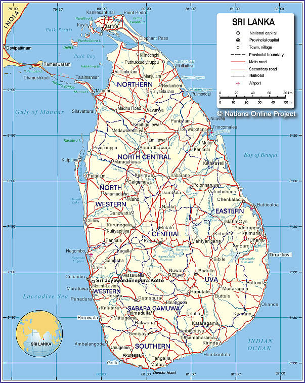 Sir lanka map check out sir lanka map cntravel - Sri lankan passport office in colombo ...