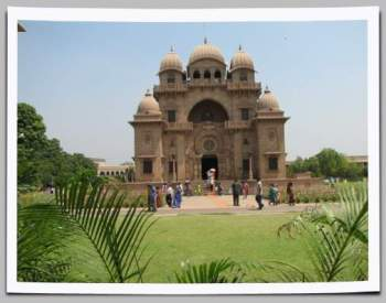 Belur Math Temple front view