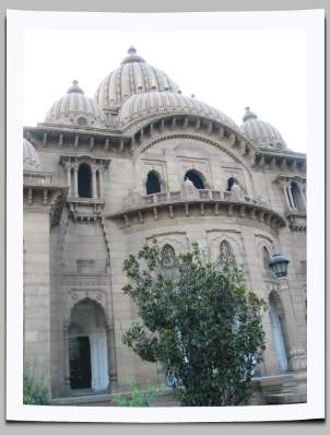 Belur Math temple rear view