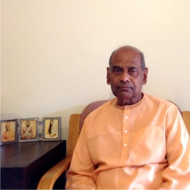 Revered Swami Sarvatmanandaji Maharaj, Head, Ramakrishna Vedanta Society, Amstelveen, Netherlands on a 9-day visit to SA