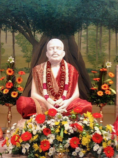 Marble image of Bhagawan Sri Ramakrishna
