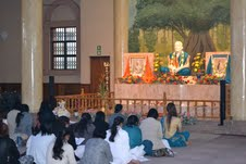 Satsang in progress...