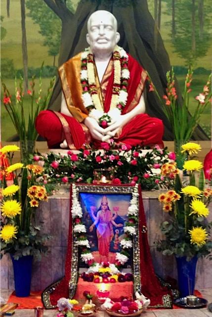 worship of Sri Mahalakshmi at Sri Ramakrishna altar