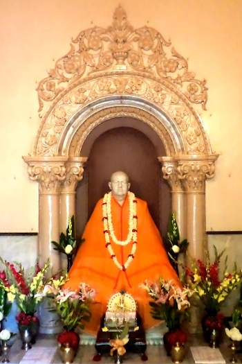 Swami Brahmananda's temple in Belur math