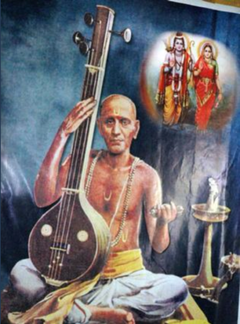 Saint Tyagaraja's love of Lord Rama