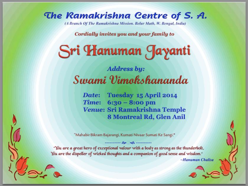 Program Invite