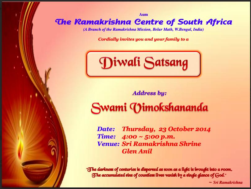 Diwali invite vedanta in practice screen shot 2014 10 21 at 112921 am stopboris Gallery