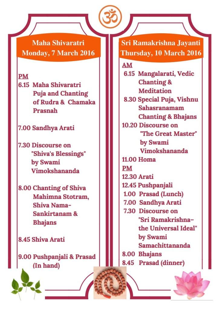 Maha Shivaratri & Thakur Puja2