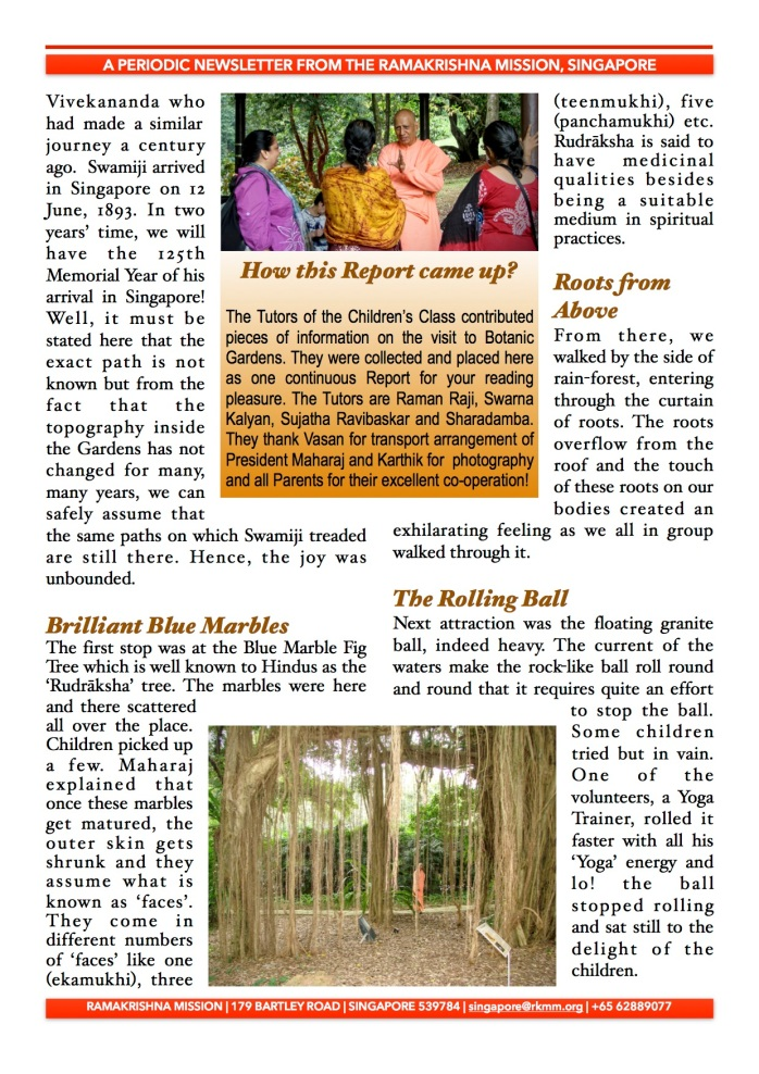 Report Botanic GardensP2