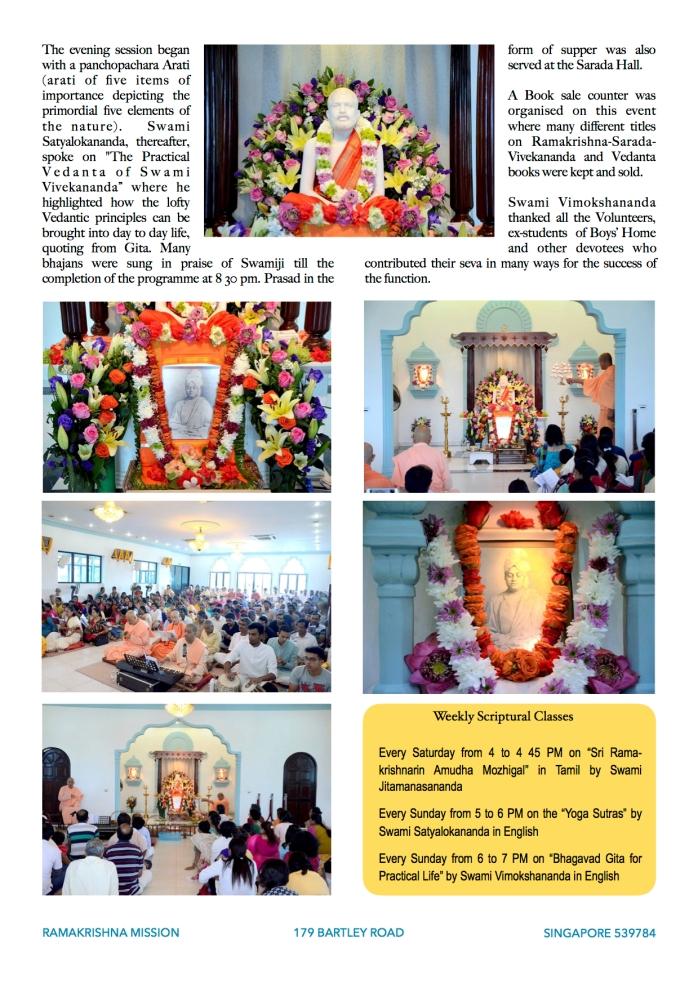 Report SV Jayanti